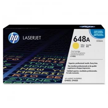 Cartus Toner HP Nr. 648A Yellow 11000 Pagini for Color LaserJet CP4025DN, CP4025N, CP4525DN, CP4525N, CP4525XH CE262A