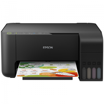 Multifunctional Inkjet Color Epson EcoTank CISS L3150 A4 10ppm alb negru, 5ppm color Wireless C11CG86405