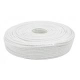 Cablu coaxial 75 ohmi RG6 cupru fir interior cupru tresa RG6-CU/CU-100-WL