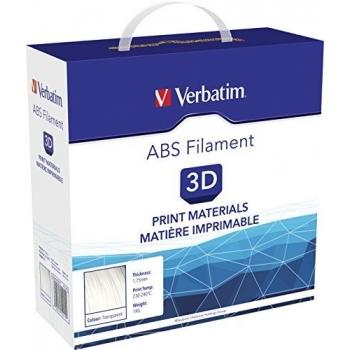 Filament 3D Verbatim ABS 1.75mm 1Kg Transparent 55015