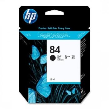 Cartus Cerneala HP Nr. 84 Black 69 ml for Designjet 10PS, Designjet 20PS, Designjet 50PS, Designjet 120, Designjet 130, Designjet 130NR, Designjet 130QP, Designjet 130R C5016A