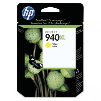 Cartus Cerneala HP Nr. 940XL Yellow 1400 Pagini for OfficeJet Pro 8000, 8000 Enterprise, 8000 Wireless, 8500, 8500 WIRELESS, 8500A E-AIO, 8500A Plus E-AIO C4909AE