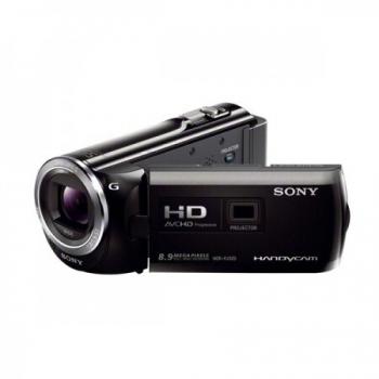 Camera Video Sony HDR-PJ320 8.9 MP Zoom Optic 30x Zoom Digital 350x Full HD Proiector incorporat Black HDRPJ320EB.CEN