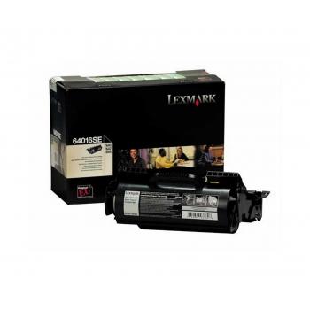Cartus Toner Lexmark 64016SE Black 6000 pagini for Optra T640, T640DN, T640DTN, T640N, T642, T642DTN, T642N, T642TN, T644, T644DTN, T644N, T644TN
