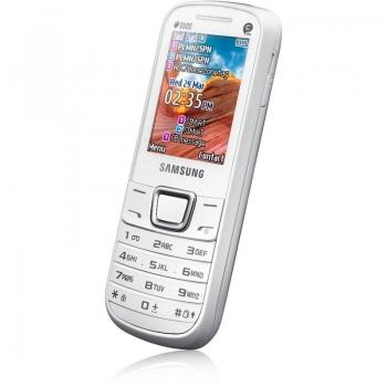 Samsung E2252 Pure White Dual SIM SAME2252WHT
