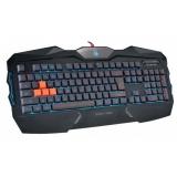 Tastatura A4Tech Bloody B254 Iluminare Neon Glare 4-infrared switch USB