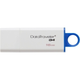 Memorie USB Kingston DataTraveler G4 16GB USB 3.0 white-blue DTIG4/16GB