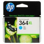 Cartus Cerneala HP Nr. 364XL Cyan Vivera Ink 750 Pagini for PhotoSmart C5380, HP PhotoSmart C6380, HP PhotoSmart D5460, HP PhotoSmart Pro B8550 CB323EE
