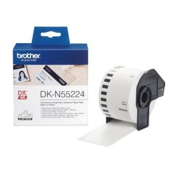 Banda Continua Hartie Brother DKN55224 Dimensiune 62mm x 30.48m black on white