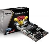 Placa de baza ASRock 970 Pro3 R2.0 Socket AM3+ AMD 970+SB950 4x DDR3 ATX