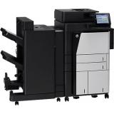 Multifunctional Laser Alb Negru HP LaserJet Enterprise M830z A3 28ppm Duplex ADF 200 coli USB Retea CF367A