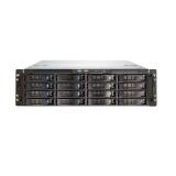 "Carcasa rack storage Chenbro 3U/19""/660mm cu manere, se pot monta si placi de baza ATX si E-ATX, 1xslim FDD/ 1xslim ODD, 16x3.5"" Hot-swap 6Gb/s mini-SAS, coolere incluse: 4x8cm mijloc si 2x8cm spate, intrusion switch, 2xUSB, 19.5Kg, suporta surs"