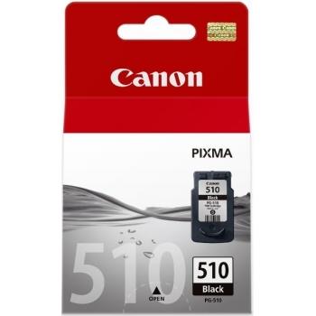 Cartus Cerneala Canon PG-510 Black 220 Pagini pentru Canon Pixma IP2700, MP240, MP250, MP260, MP270, MP280, MP480, MP490, MP495, MX320, MX330, MX340, MX350, MX410, MX420 BS2970B001AA