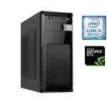 Sistem PC Bocris Intel Core i5-9400F Hexa Core up to 4.1GHz RAM 16GB DDR4 SSD 480GB + HDD 1TB nVidia RTX 2060 6GB