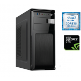 Sistem PC Bocris Intel Core i5-9400F Six Core up to 4.1GHz RAM 8GB DDR4 HDD 1TB GTX 1650 4GB GDDR5