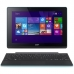 "Tableta Acer Aspire Switch 10E SW3-013 Intel Atom Quad Core Z3735F up to 1.83GHz IPS 10.1"" 1280x800 2GB RAM memorie interna 64GB HDD 500GB Windows 8.1 Blue NT.G0NEX.003"