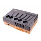 UPS NJoy Shed 625 Brick Style 625VA 375W Interactiv cu AVR si management PWUP-LI062SH-AZ01B
