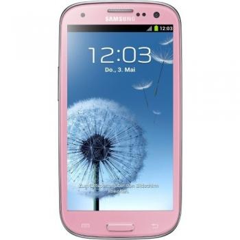 "Telefon Mobil Samsung Galaxy S3 i9300 Pink 4.8"" 720 x 1280 Gorilla Glass 2 Super AMOLED Cortex A9 Quad Core 1.4GHz memorie interna 16GB Android v4.0 SAMI930016GBPNK"
