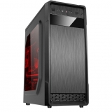 Carcasa Middle Tower Floston GRAVITY BLACK Ventilatoare 1x 120mm 1x USB 3.0 2x USB 2.0 2x Jack 3.5mm