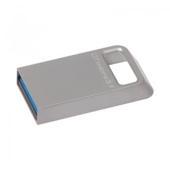 Memorie USB Kingston DataTraveler Micro 3.1 64GB USB 3.1 Metalic DTMC3/64GB