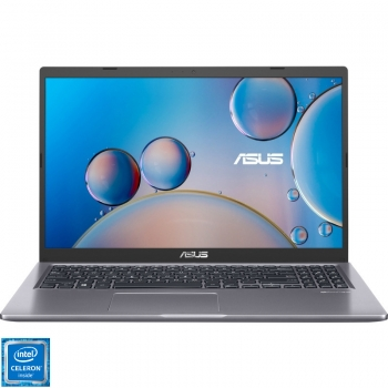 Laptop ASUS 15.6 VivoBook X515MA-BR062, HD, Procesor Intel Celeron N4020 (4M Cache, up to 2.80 GHz), 4GB DDR4, 256GB SSD, GMA UHD 600, No OS, Slate Grey