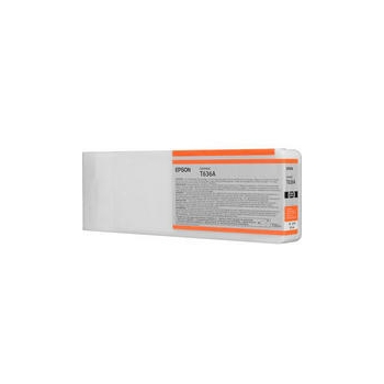 Cartus Cerneala Epson T636A Orange 700ML for Epson Stylus Pro 7900, Stylus Pro 7900 Spectroproofer, Stylus Pro 7900 Spectroproofer UV, Stylus Pro 9900 C13T636A00