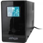 "UPS GEMBIRD 650VA W. AVR, display LCD, black, ""EG-UPS-031"""