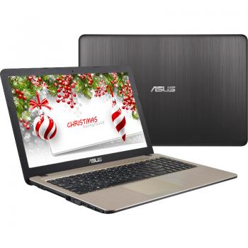 """Laptop Asus X540LJ-XX403D Intel Core i3-5005U Broadwell 2GHz 4GB DDR3L HDD 500GB nVidia GeForce 920M 15.6"""" HD Black - Brown"""