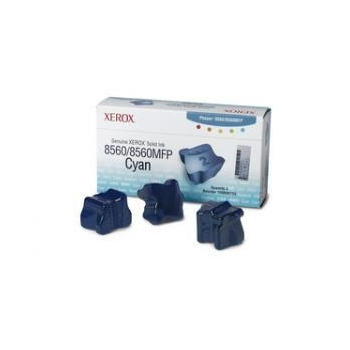 Cartus Cerneala Solida Xerox Cyan 3 Sticks capacitate 3000 for 8560DN, 8560DT, 8560DX, 8560N 108R00764