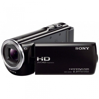 Camera Video Sony HDR-CX320E 8.9 MP Zoom Optic 30x Zoom Digital 350x Full HD Black HDRCX320EB.CEN