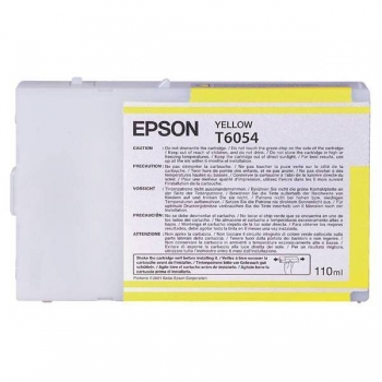 Cartus Cerneala Epson T6054 Yellow 110ml for Stylus Pro 4800, 4880 C13T605400