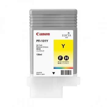 Pigment Ink Tank Canon PFI-101Y Yellow 130 ml for iPF5X00, iPF6100 CF0886B001AA