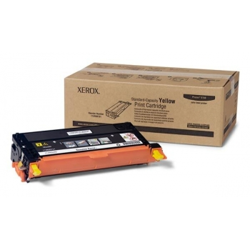Cartus Toner Xerox 113R00721 Yellow Standard Capacity 2000 Pagini for Phaser 6180DN, Phaser 6180DT, Phaser 6180MFP/D, Phaser 6180N