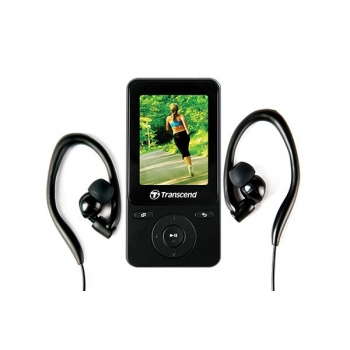 MP4 Player Transcend MP710 8GB Radio USB 2.0 Black TS8GMP710K