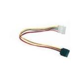 Cablu adaptor Gembird de la mufa Molex la mufa SATA CC-SATA-PS 15 cm