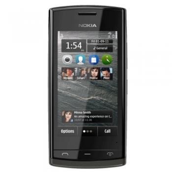 Telefon Mobil Nokia 500 Black 2GB 3G NOK500BK