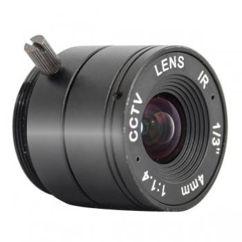 "Lentila fixa LC-RS0414F.IR 1/3"" InfraRed 2MP 4mm montura CS"