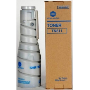Cartus Toner Konica TN-311 Black Capacitate 17500 pagini for Minolta Bizhub 350, Bizhub 362, Bizhub 362+DF-620