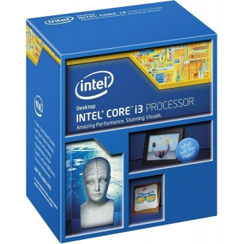 Procesor Intel Haswell Refresh Core i3-4160 Dual Core 3.6GHz Cache 3MB Socket 1150 BX80646I34160
