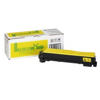 Cartus Toner Kyocera TK-550Y Yellow 6000 Pagini for Kyocera Mita FS-C5200DN
