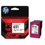 HP 651 Tri-colour Ink Cartridge (~300 pag) C2P11AE