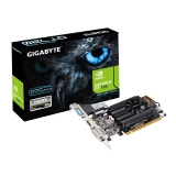 Placa Video Gigabyte nVidia GeForce GT 710 1GB GDDR3 64 bit PCI-Ex16 2.0 VGA DVI HDMI GV-N710D3-1GL