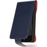 Husa Cygnett Lavish Leather pentru iPhone 5 Blue CY0864CPLAV