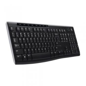 Tastatura Wireless Logitech K270 Multimedia 2.4Ghz USB Black 920-003738