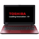 "Laptop Toshiba Satellite L50-B-258 Intel Pentium Quad Core N3540 up to 2.66GHz 4GB DDR3L HDD 500GB Intel HD Graphics Gen7 15.6"" HD Red PSKTWE-02800DG6"