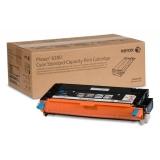 Cartus Toner Xerox 106R01388 Cyan Standard Capacity 2200 Pagini for Phaser 6280DN, 6280N