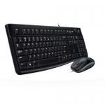 Kit Tastatura+Mouse Logitech MK120 Desktop Kit B110 USB Black 920-002563