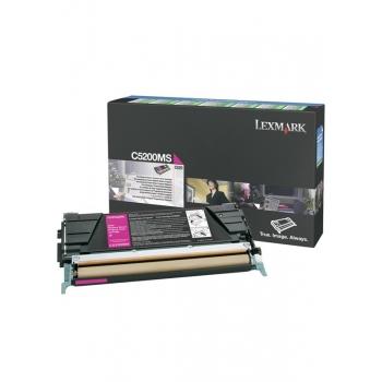 Cartus Toner Lexmark C5200MS Magenta 1500 pagini for C530DN