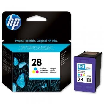 Cartus Cerneala HP Nr. 28 Color 240 Pagini for Deskjet 3320, 3325, 3420, 3425, 3520, 3550, 3650, 3745, 3845, PSC 1110, PSC 1210, 1215, 4255 C8728AE