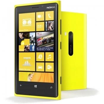 "Telefon Mobil Nokia Lumia 920 PureView Yellow 3G 4G 4.5"" 768 x 1280 IPS Gorilla Glass 2 Krait Dual Core 1.5GHz memorie interna 32GB Microsoft Windows Phone 8 NOK920YLW"
